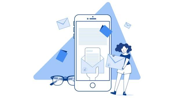 EDM Email Marketing  Illustration -05