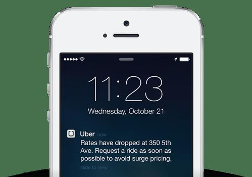 Uber-notification