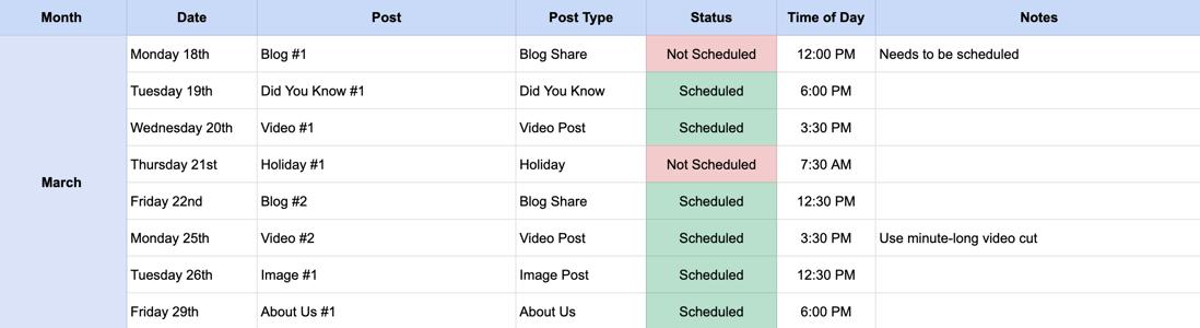 google-sheets-social-media-calendar-for-schools