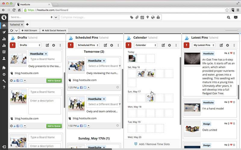 hootsuite-social-media-calendar-schools