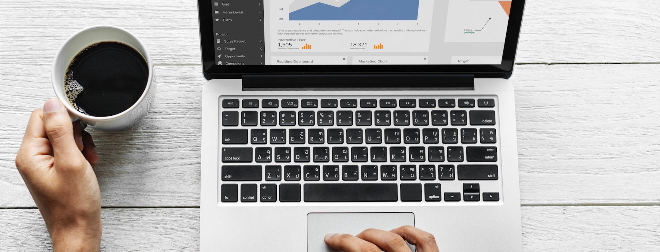 Engaging a marketing agency for schools on a laptop